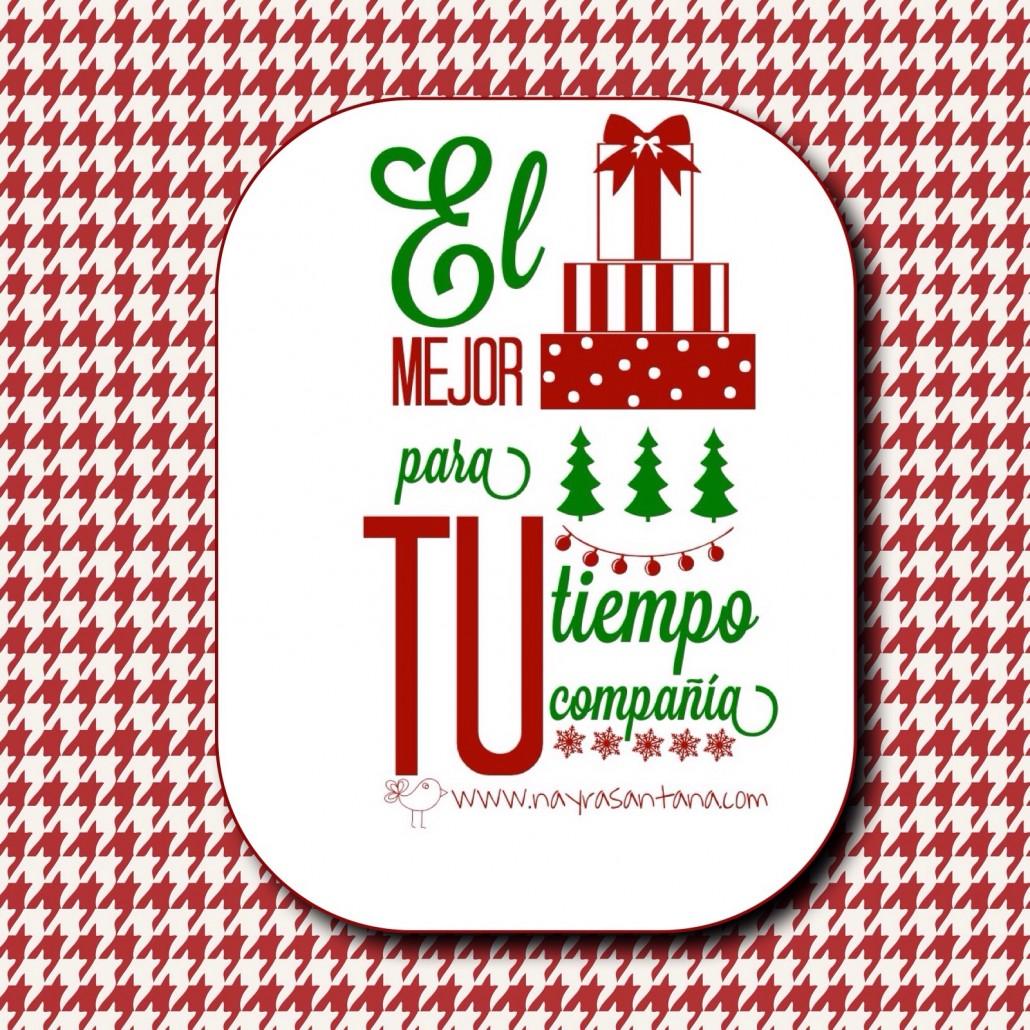 Frases El Mejor Regalo De Navidad.El Mejor Regalo De Navidad Son Tu Tiempo Y Compania Nayra